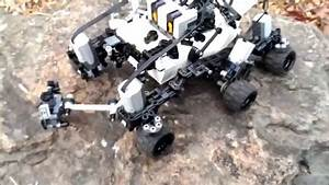Technical LEGO: Remote control Mars rover Curiosity - YouTube