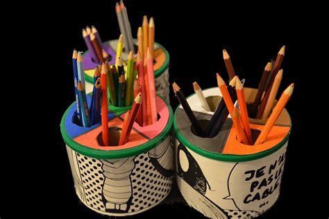 recycler boite de lait en pot 224 crayon