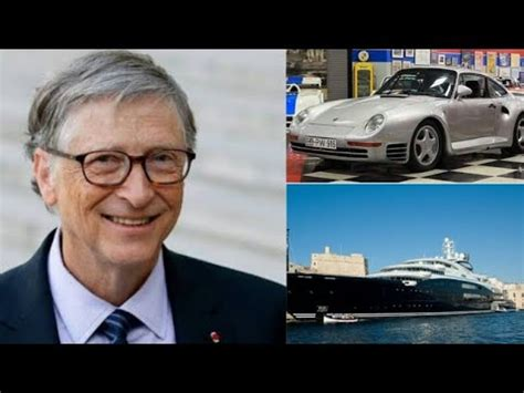 BILL GATES CAR,PRIVATE JET AND YACHT COLLECTION.PORCHE ...