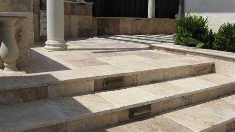 travertine paver patio modern patio outdoor