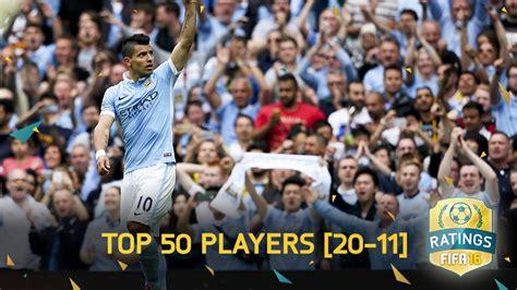 Fifa 16 Ratings Top 50  20 Tm 11  Fifa Benelux