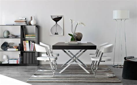 cuisine carree table salle a manger style atelier chaios com