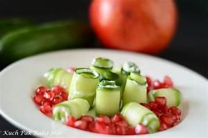Kuch Pak Raha Hai  Cucumber Rolls