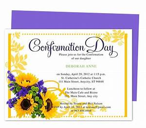113 best images about comfirmation on pinterest With confirmation invites templates