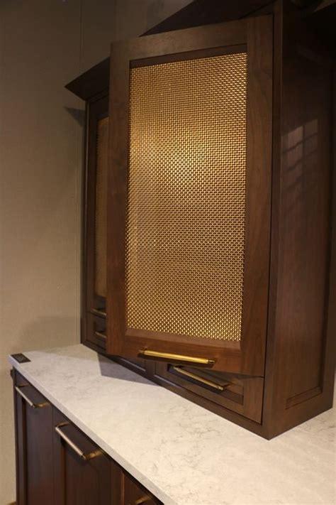 metal cabinet door inserts  decorative metal mesh