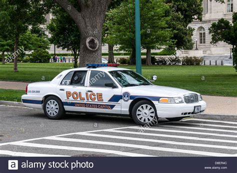 United States Capitol Police Ford Crown Victoria Police