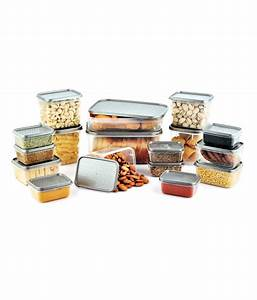 All, Time, Silver, Storage, Containers, 17, Pcs, Buy, Online, At, Best, Price, In, India