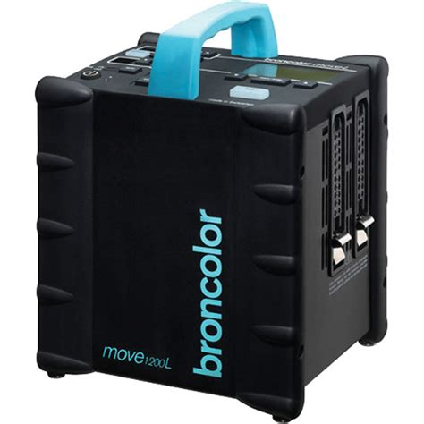 battery powered l broncolor move 1200 l battery power pack b 31 016 07 b h photo