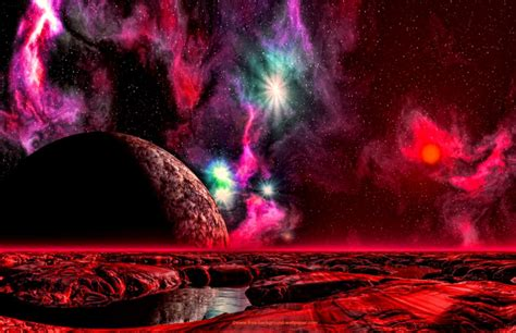 planet landscape wallpaper wallpapers gallery
