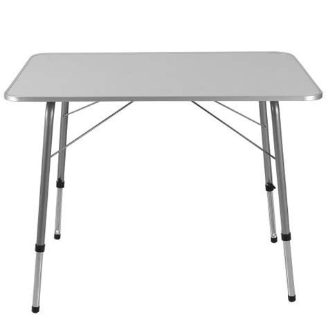 deuba table de cing pliante 224 hauteur r 233 glable en aluminium bricolage pas cher bricolage