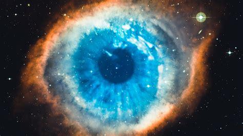 wallpaper helix nebula eye galaxy universe stars hd