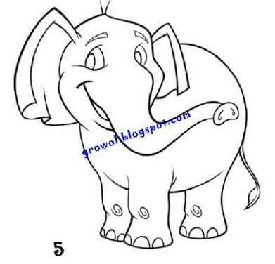 Coloring Gajah by 16 Best Mewarnai Images On Birds Children