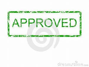 Green Approved Rubber Stamp Royalty Free Stock Image ...