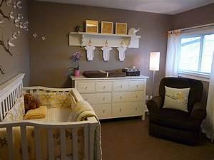 Ashley Gray Contemporary Nursery Benjamin Moore