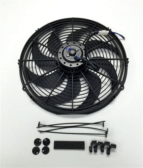 Electric Radiator Cooling Fan Curved Blade