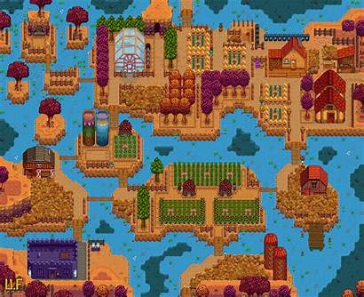 Farm River Layouts Stardew Valley Ton Map