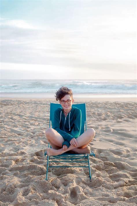 chaise plage chilienne bleue turquoise fermob chaise longue pliante