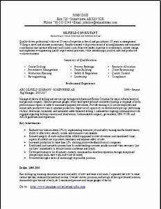 consulting resume occupationalexamples samples free With free resume consultation