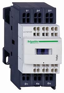 Schneider Electric Lc1d183bl Contactor 600vac 18amp Iec