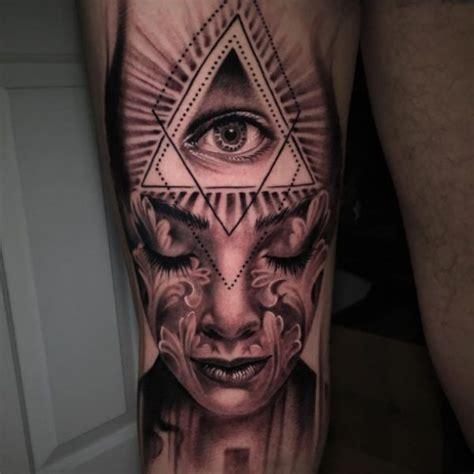 Illuminati Tattoo And Portrait Httptattootodesigncom