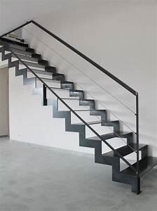 Escalier Métallique Industriel : escalier style industriel savenay ~ Melissatoandfro.com Idées de Décoration