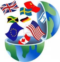 World Flag Globe Clip Art