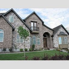 Brick And Stone Home Photo Gallery   Home Is A