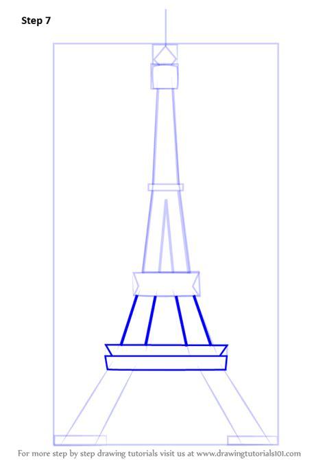 learn   draw  eiffel tower wonders   world