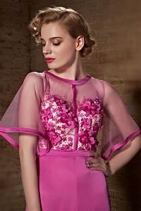 Haut Habillé Pour Soirée : robe pantalon fuchsia pour soir e haut floral ~ Melissatoandfro.com Idées de Décoration