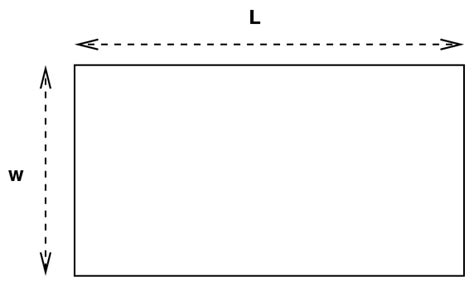 I Measure A Rectangle With My Ruler,and Find L = 10 + 1 Cm And W = 5 + 1 Cm