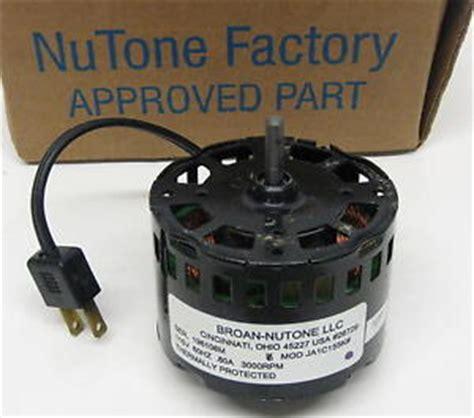 nutone bathroom fan motor 23405 fan motor nutone 23405