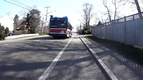 bat bus brockton area transit buzzes cyclist youtube