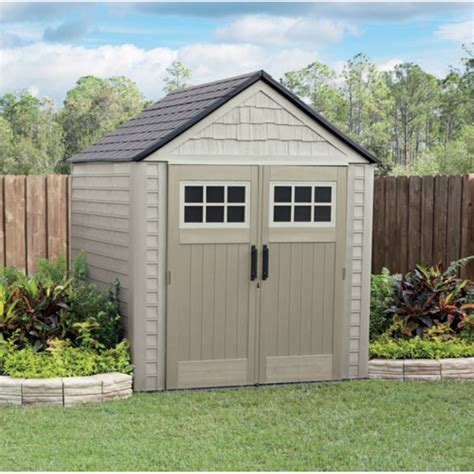 Rubbermaid 7x7 Shed Home Depot by Rubbermaid 7x7 Storage Shed By Rubbermaid At Mills Fleet Farm