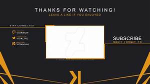 Free outro template 28 images free outro template for sony vegas pro 11 outro template psd for Free outro template