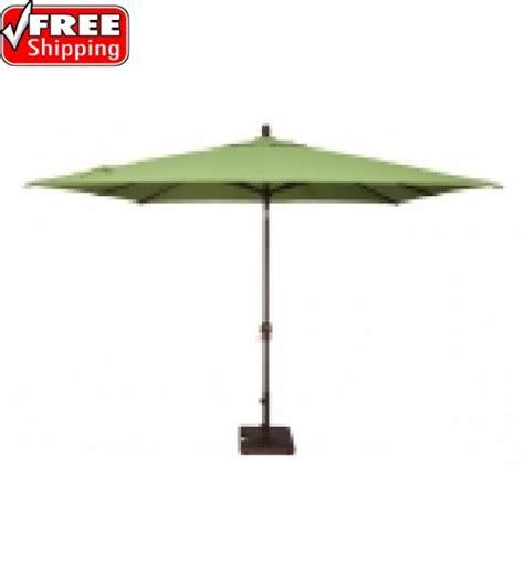 California Umbrella Gs1188s117 11x8 Rectangular Best Selection Rectangular Market Umbrellas Patio