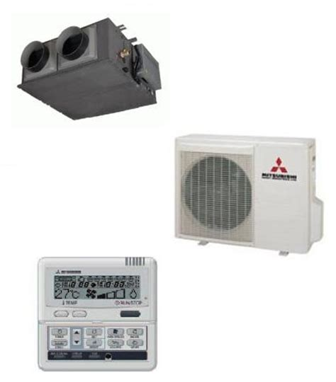 Mitsubishi Fdum50vf Ducted Heat Pump