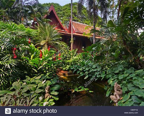 jim gardening the jim jim tompson house tropical garden bangkok thailand stock photo royalty free image