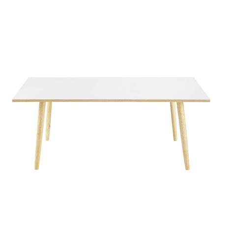 table basse vintage blanche fjord maisons du monde