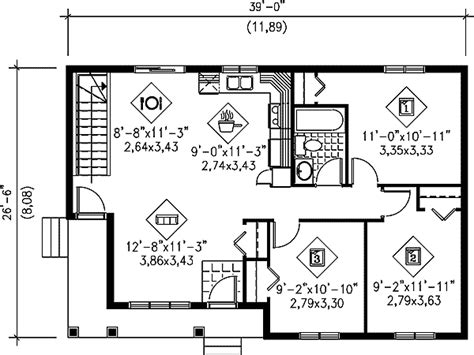 Easy-to-build Ranch Home Plan
