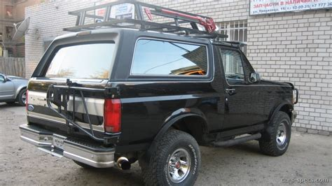 ford bronco suv specifications pictures prices