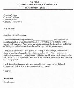 sample cover letters for employment sample cover letter With cover letter template for job application