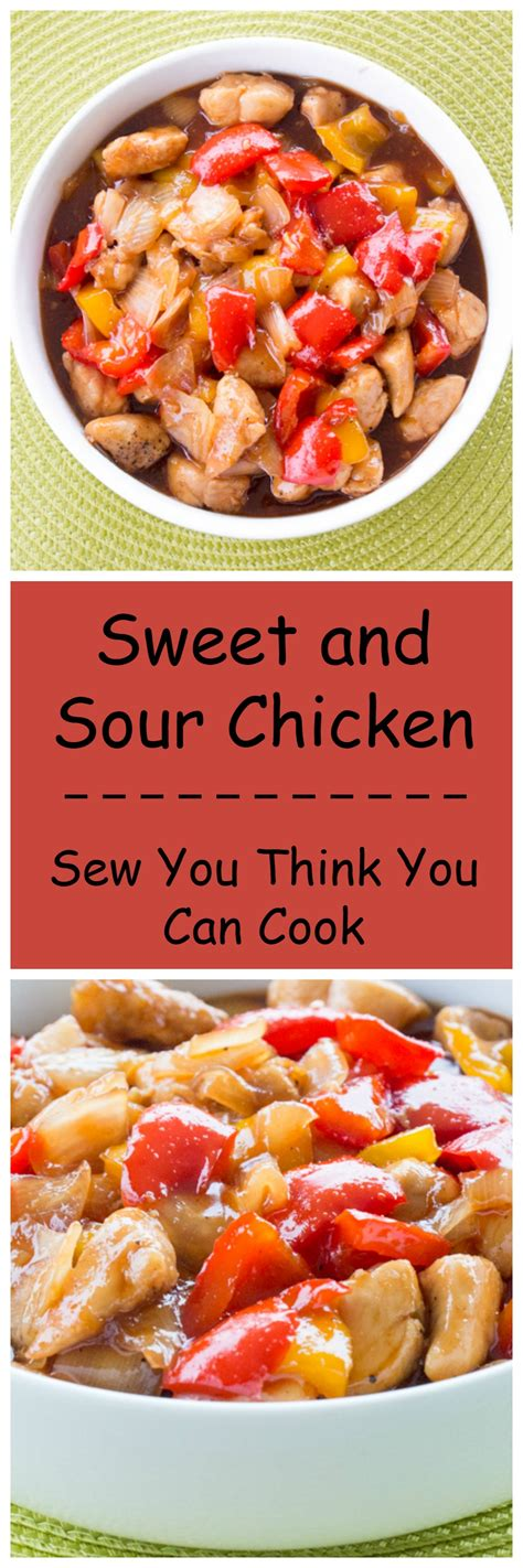 can you boil chicken to cook it sweet and sour chicken sew you think you can cook