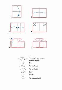Origami Maison En Papier : croquis origami de la maison colorier t te modeler ~ Zukunftsfamilie.com Idées de Décoration