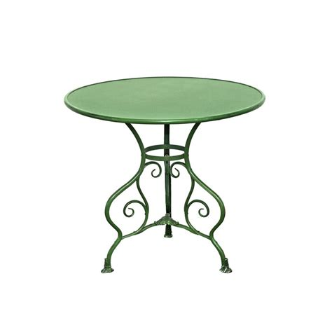 table ronde en fer forge table de jardin ronde en m 233 tal fer forg 233 arras diam 232 tre 80 cm
