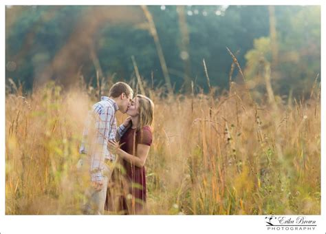 landon  brittanys country field fall engagement