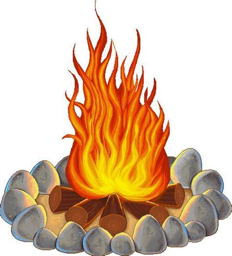 campfire smoke cliparts   clip art