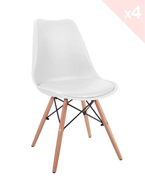 coussins de chaises de cuisine lot de 4 chaises dsw avec coussin nasi kayelles com