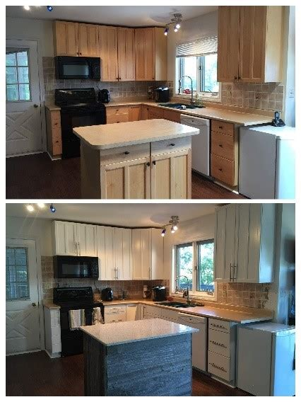 paint kitchen cabinets   stained