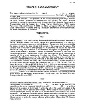 template  commercial lease agreement  truck form