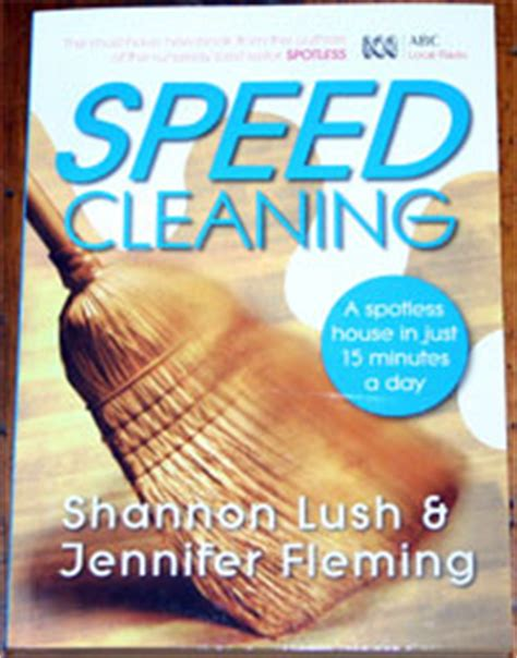 Speed Cleaning  Shannon Lush & Jennifer Fleming New